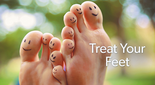 5 Reasons To Treat Your Feet