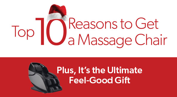Top 10 Reasons to Get a Massage Chair